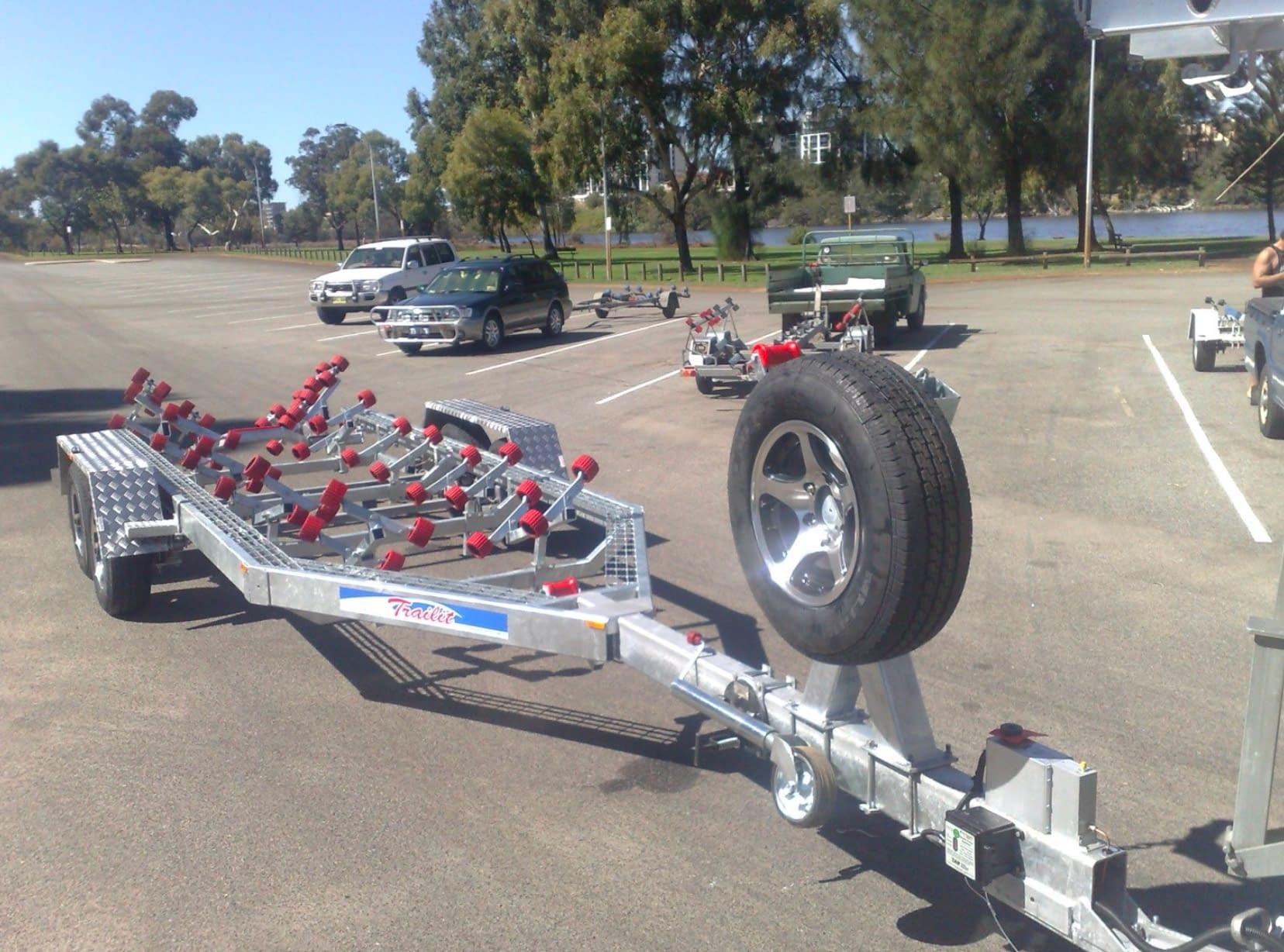 Super roller series boat trailers