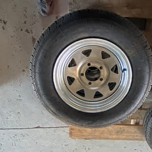 14 inch wheel galvanised 185R14