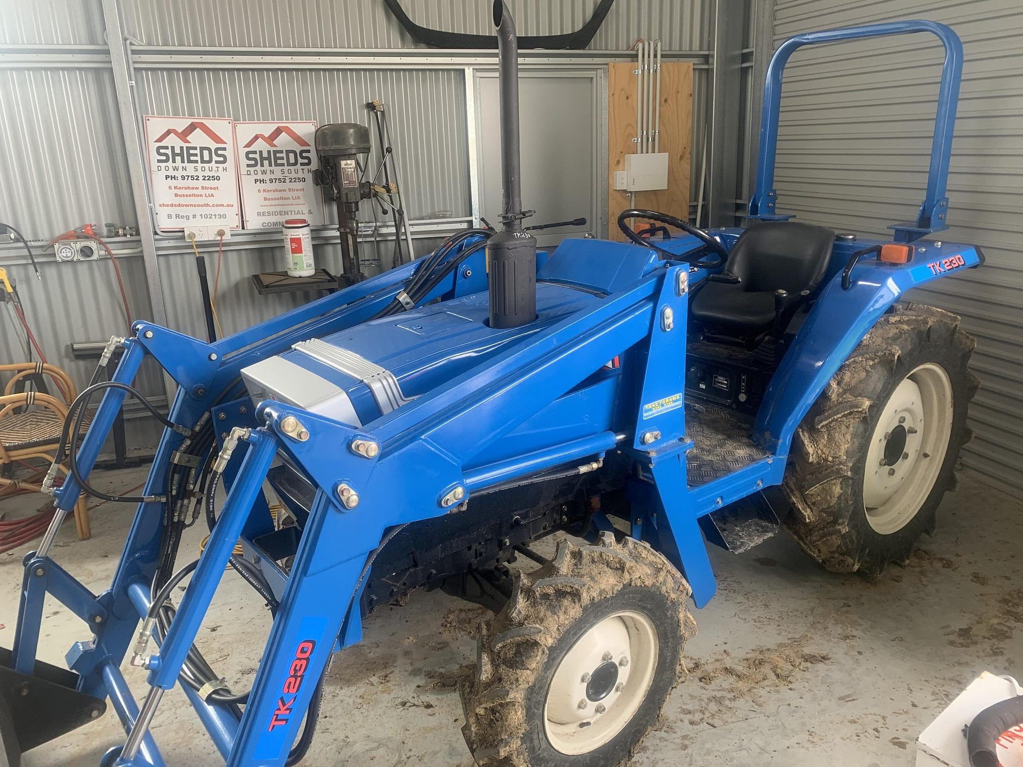 Isei TK230 ROPS Tractor (BM)