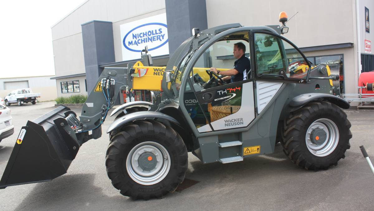 Nicholls Machinery partnering with Wacker Neuson